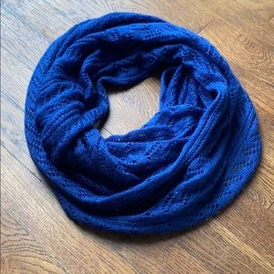 Blue Charming Charlie Knit Infinity Scarf